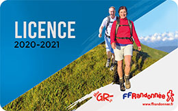 Licence FFRandonnée 2019-2020