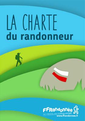 FFRandonnée - charte du randonneur - sentier - itinéraires - suricate