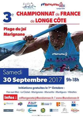 Affiche 3e Championnat de France de Longe Côte