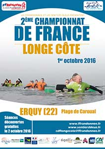 2ème championnat de France de Long Côte - octobre 2016