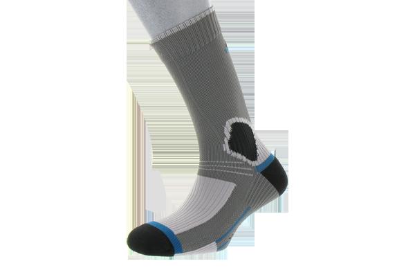 Une paire de chaussettes tige longue lastiqu e 76 polyamide friction free 24 polypropyl ne - Lampe frontale intersport ...
