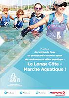 Flyer Longe Côte Marche aquatique FFrandonnée
