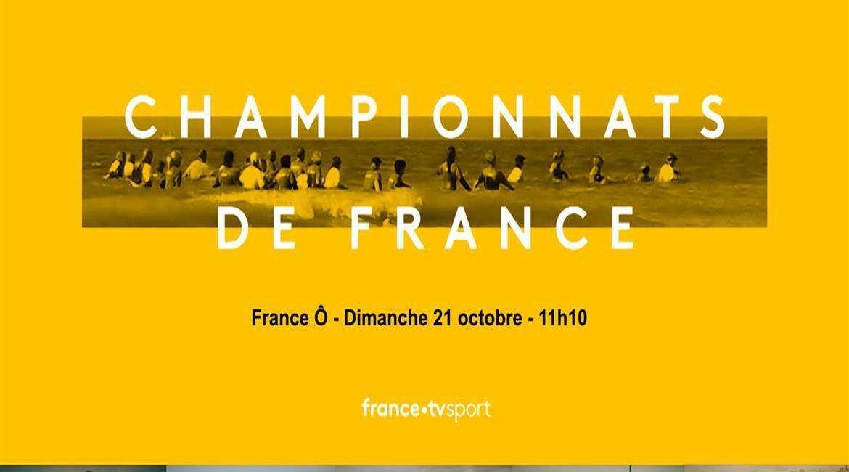 Les 4e Championnats de France de Longe Côte sur France Ô