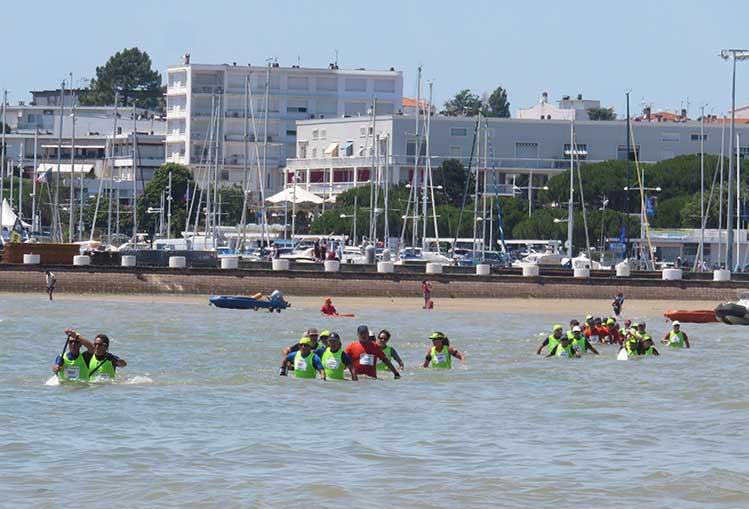 Les épreuves régionales du 3ème Championnat de France Longe Côte - FFrandonnée