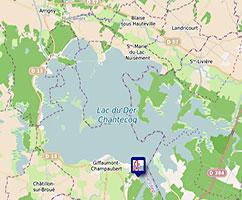 Carte Longe-Côte Grand Est FFRandonnée
