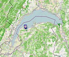 Carte Longe-Côte FFRandonnée région AURA