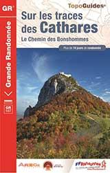 Topoguide FFrandonnée Catalogne Chemins des Bonhommes