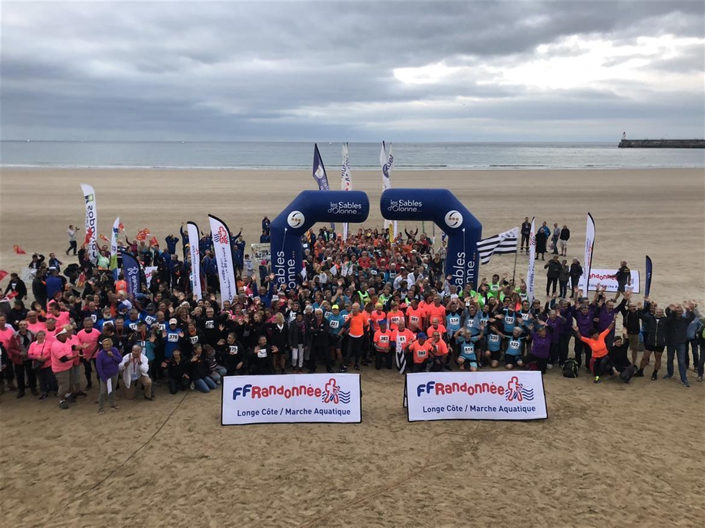 4ème Championnat de France Longe Côte 2018 Sable d'Olonne Vendée