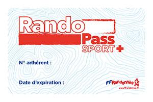 RandoPass Sport Plus FFrandonnée