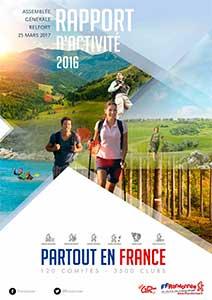 Rapport d'activité 2016 FFRandonnée