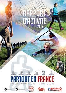 Rapport d'activité 2017 FFRandonnée