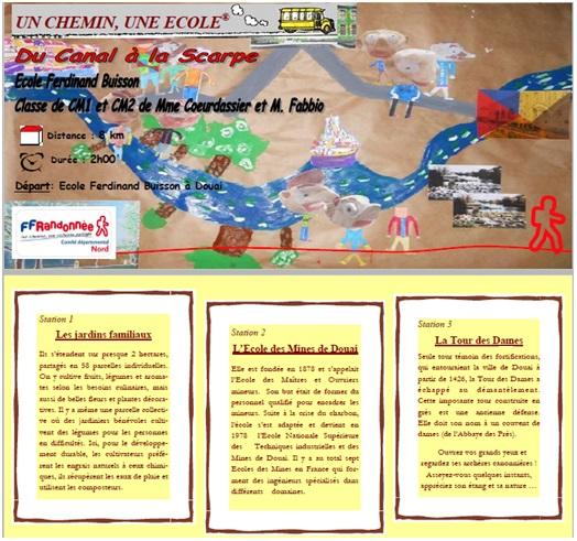 Un chemin, une école - Ecole Ferdinand Buisson