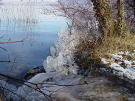 Photo randonner en période hivernale