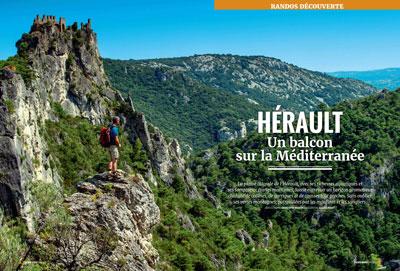 Passion Rando n°50 : Hérault, un balcon sur la Méditerranée