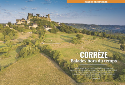 Passion Rando n°55 : Corrèze, balades hors du temps